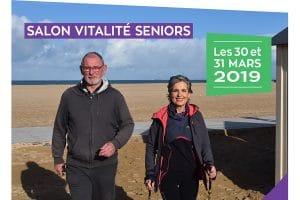 Salon vitalité séniors à Ouistreham le 30 mars 2019